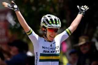 Amanda Spratt of Mitchelton-Scott won stage 2 of the Women's Tour Down Under