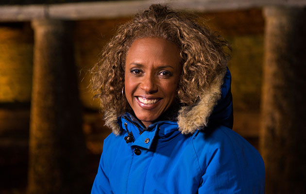 Gillian Burke is all wrapped up for a new season of Winterwatch