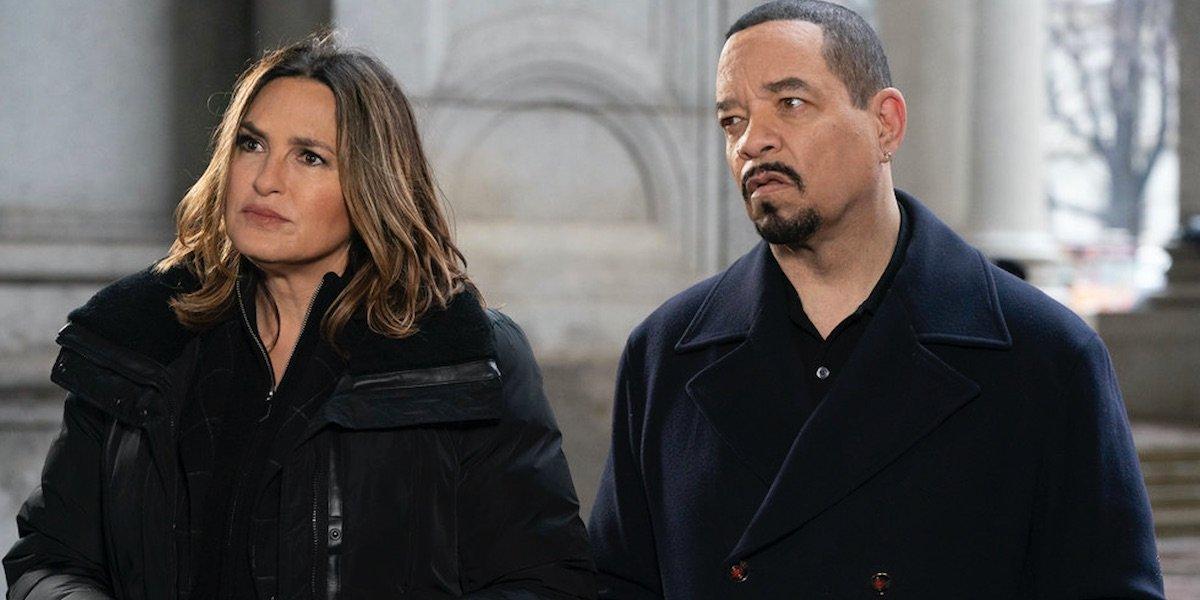 Ice-T, Mariska Hargitay, Philip Winchester, Kelli Giddish, and Peter Scanavino in Law and Order: Spe