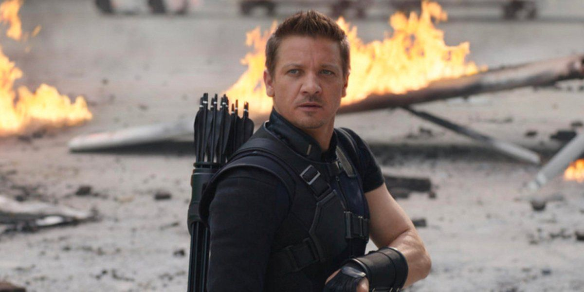 Jeremy Renner as Clint Barton/Hawkeye in Captain America: Civil War (2016)