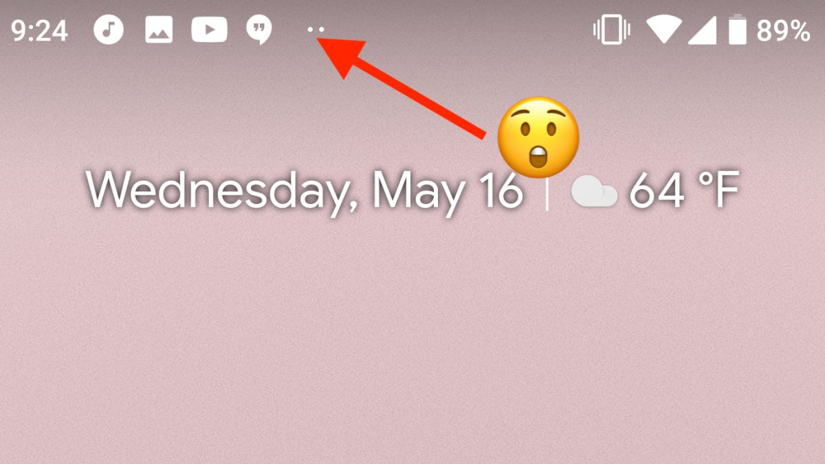 Android P only has space for four notifications icons to make you hate notches even more