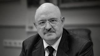 Yevgeny Mikrin, head of Russia's human spaceflight program, in an undated agency photograph.