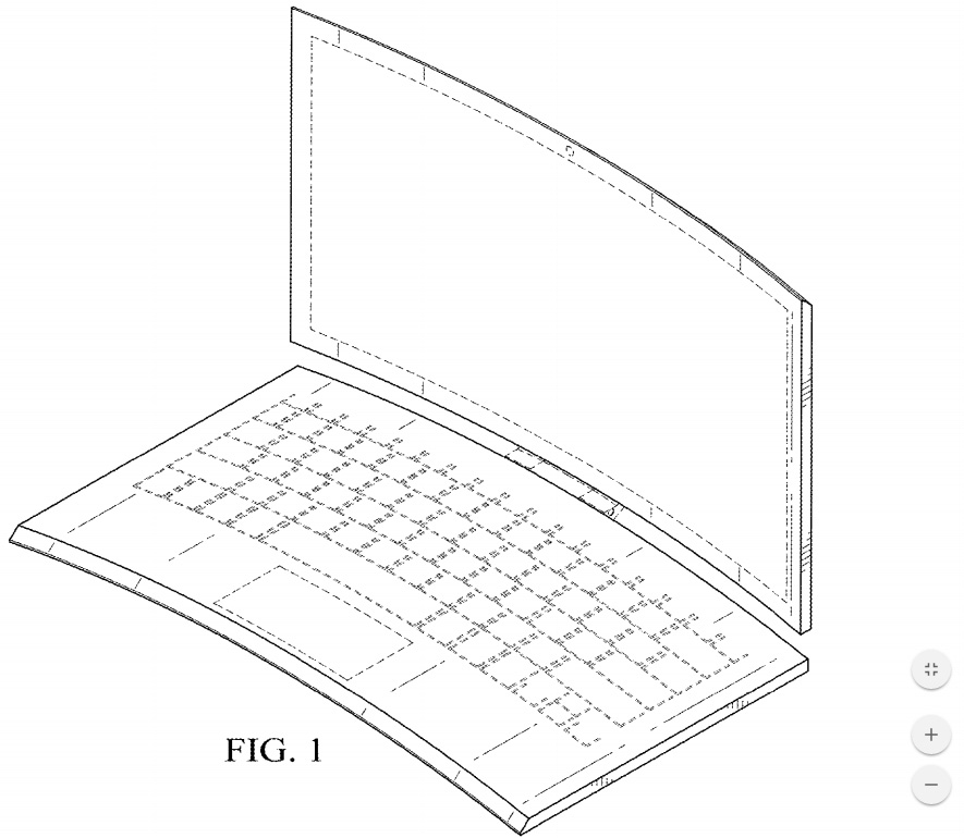 Intel Patent Shows A Hybrid 2 In 1 With A Detachable Curved Display
