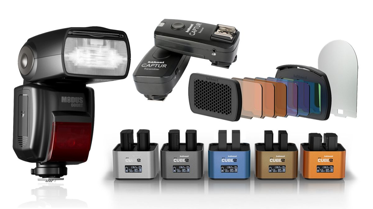 Hähnel's speed light and speed charging systems increase your creativity