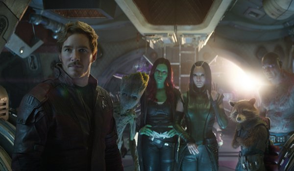 Guardians of the Galaxy Avengers Infinity War