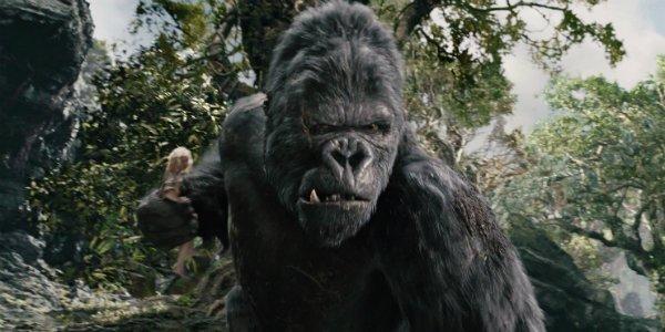 Kong Height In Skull Island