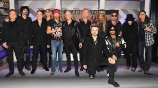 Motley Crue, Def Leppard and Poison at the tour announcement press conference in Hollywood