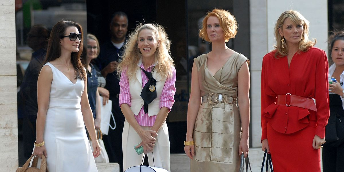 The main cast of Sex and the City.