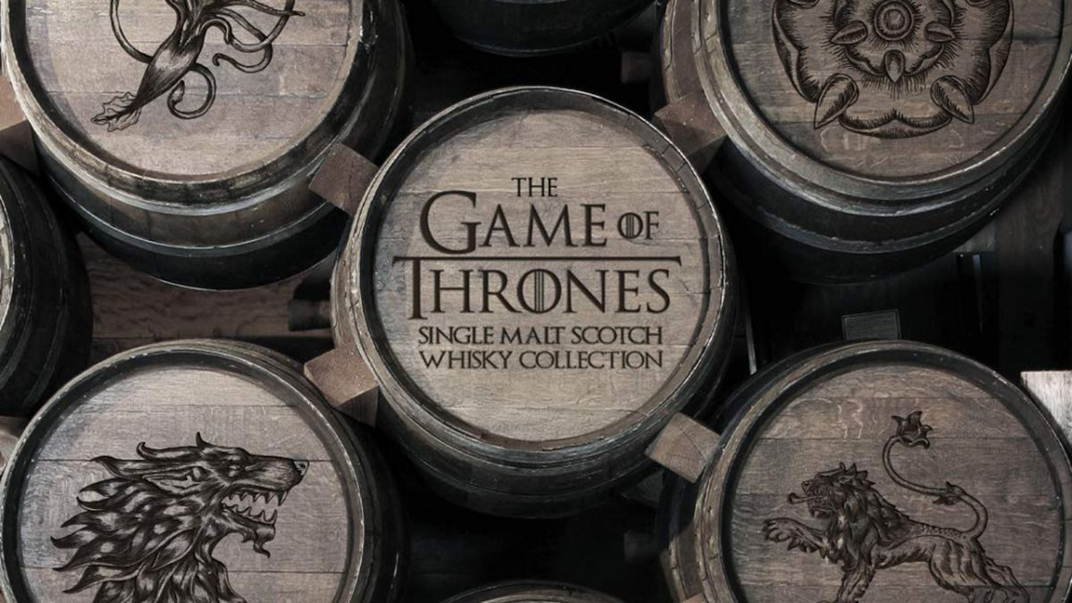 Winter is here! Grab a bargain on the Game Of Thrones whisky range