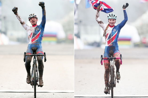 Cyclocross World Championships 2018: Evie Richards and Ben Tulett give Great Britain double gold