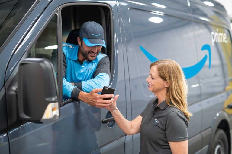 Amazon Prime delivery process