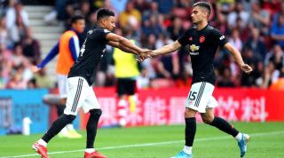 Jesse Lingard Andreas Pereira Manchester United