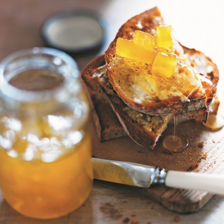 Marrow and ginger conserve photo