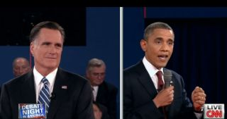 second presidential debate in town-hall setting