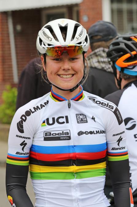 World champion Amalie Dideriksen (Boels Dolmans)