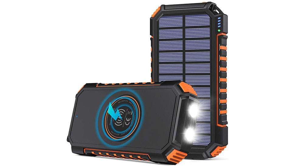 Hiluckey Wireless Solar Charger