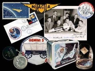 Collecting 50 Years of NASA Space History