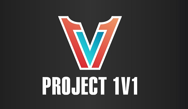 The Project 1v1 logo