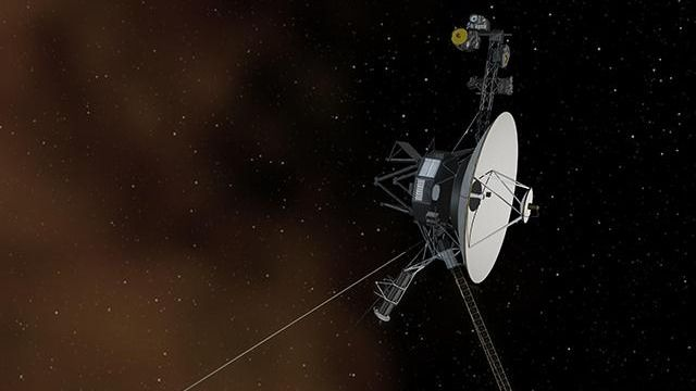 From interstellar space, twin Voyager probes spot 'electron burst'