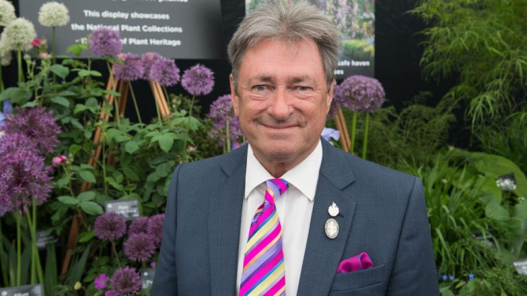Alan Titchmarsh at Chelsea Flower Show