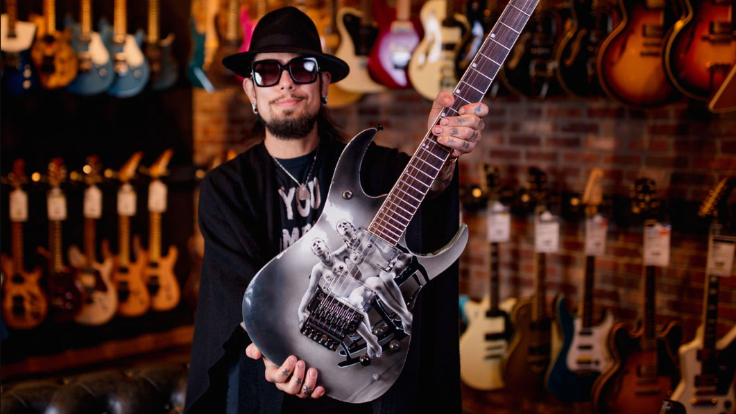 Dave Navarro reunites with long-lost custom Ibanez - after it was traded in at Guitar Center | MusicRadar