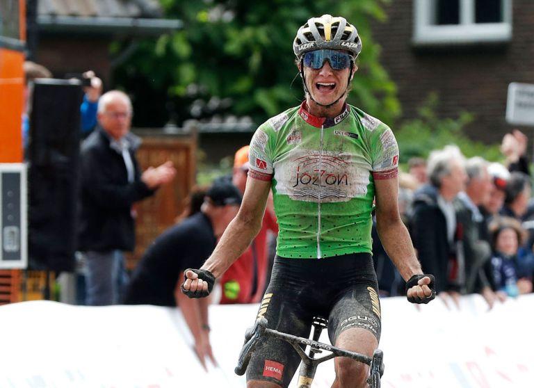Marianne Vos (Jumbo-Visma) wins stage four of the 2021 Simac Ladies Tour