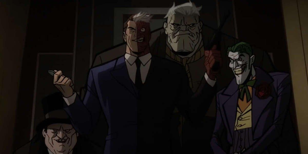 Batman villans from Batman: The Long Halloween, Part Two