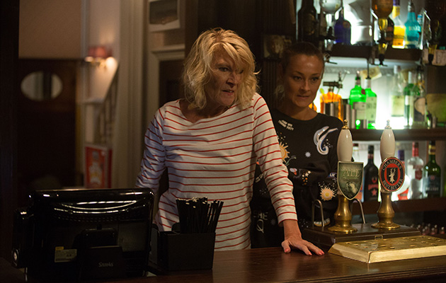EastEnders Shirley Carter is back in the Queen Vic