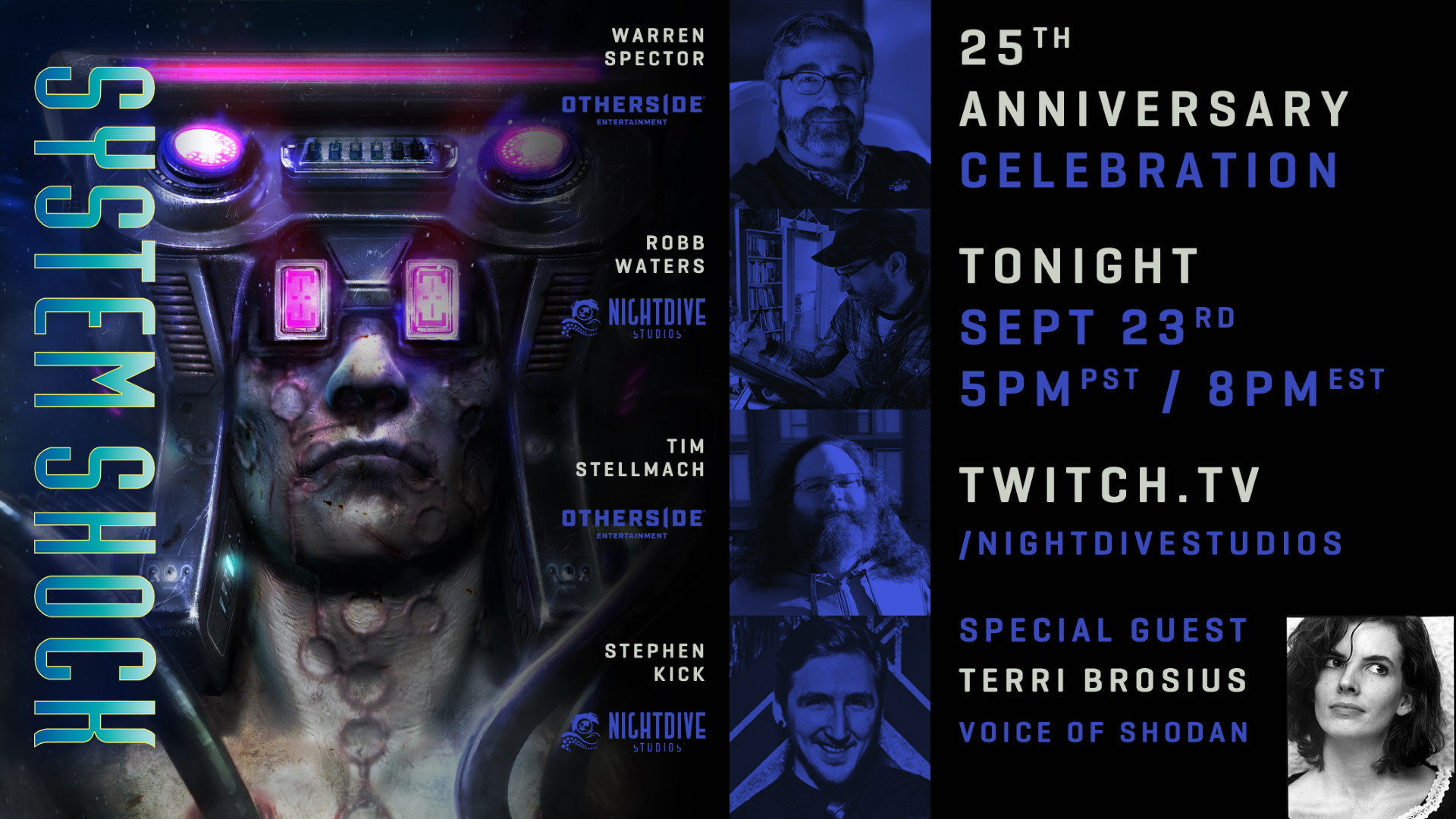 System Shock anniversary stream will feature Warren Spector and the voice of Shodan | PC Gamer