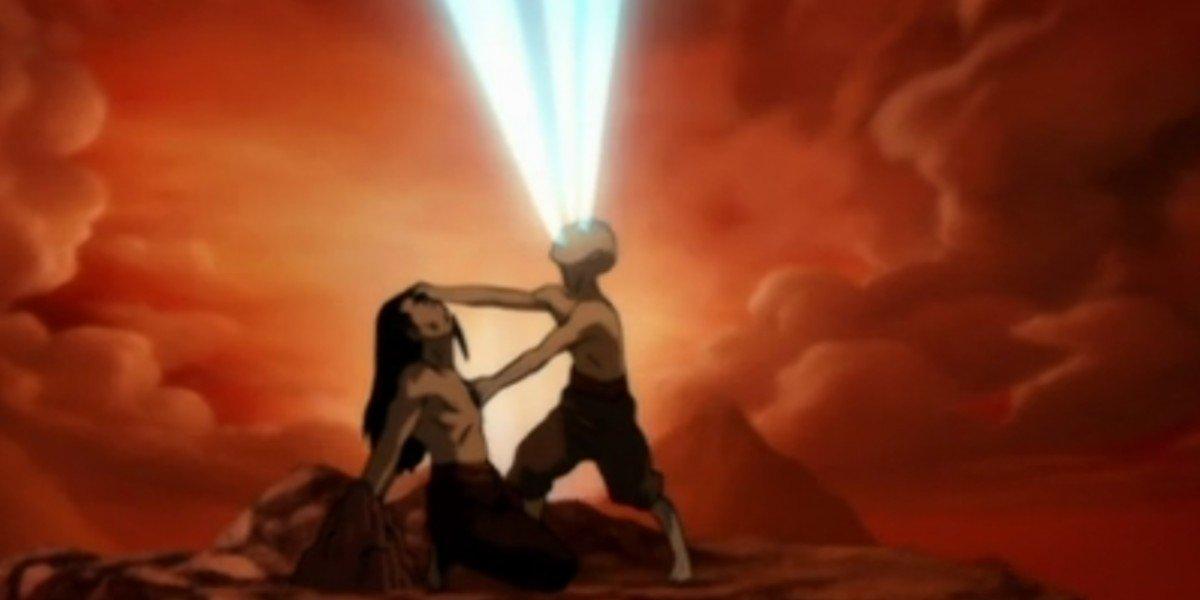Aang and Ozai