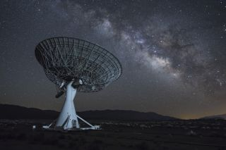 The Owens Valley Radio Observatory looks like it exists on another world, though the telescopes are grounded here on Earth in California, where they scour the heavens for radio signals, some of which could come from extraterrestrial intelligence.