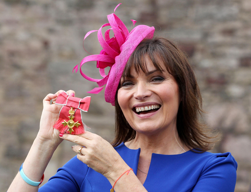 Lorraine Kelly 'emotional' over OBE