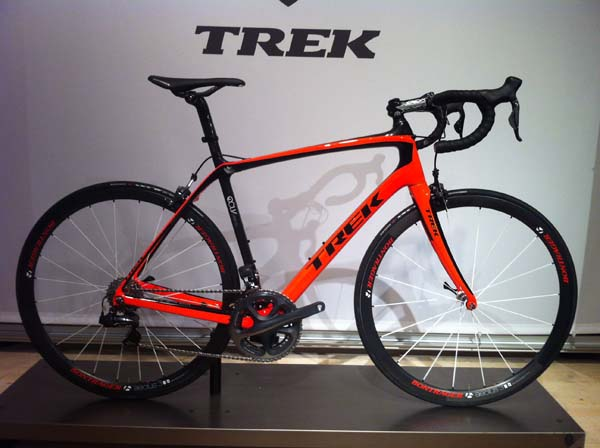 New Trek Domane: Comfort without compromising performance ...