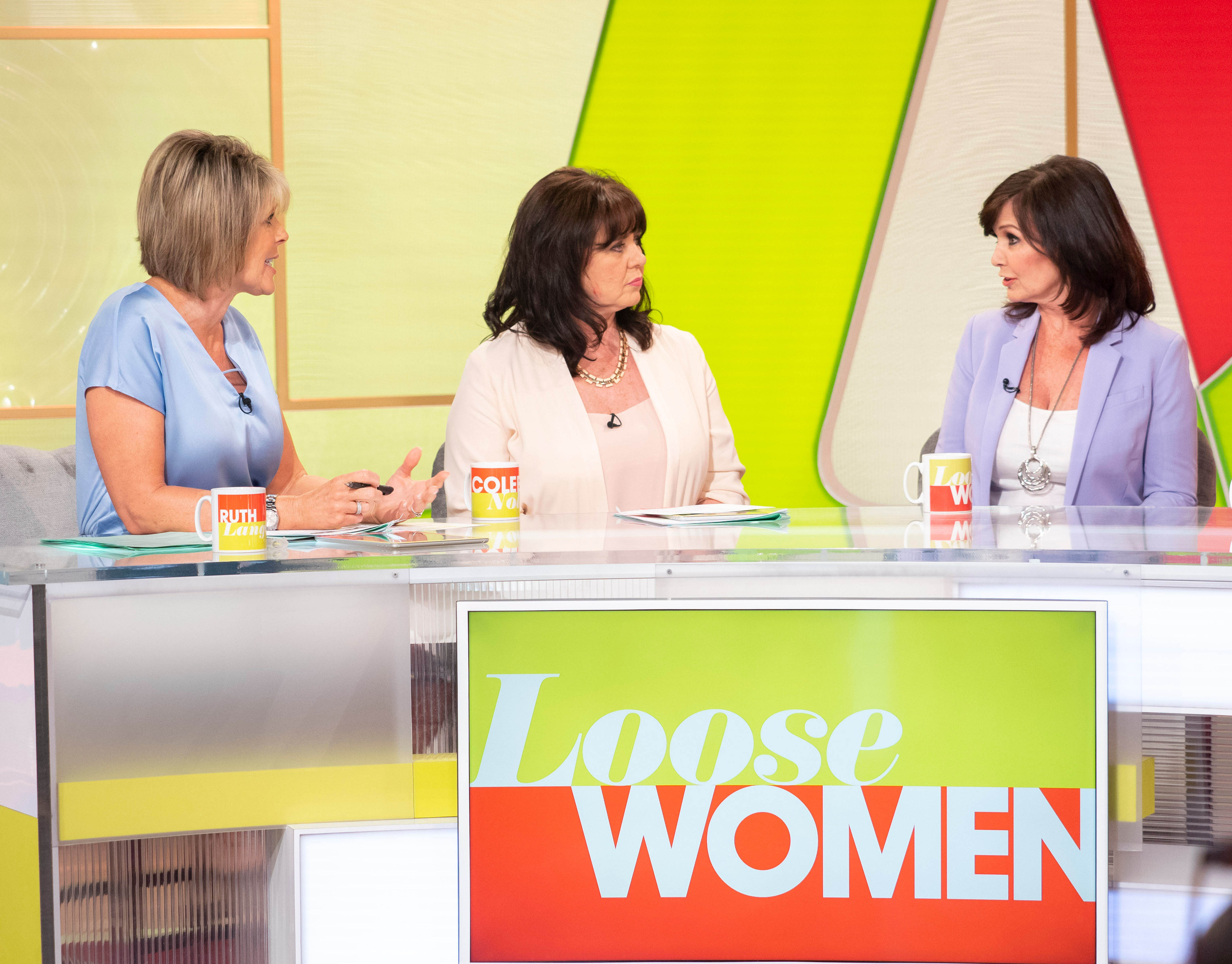 Maureen Nolan shows off results of facelift on Loose Women