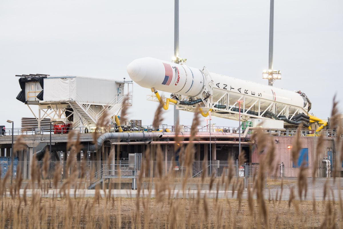 Northrop Grumman to launch Valentine's Day cargo ship to space station today. How to watch live. - Space.com