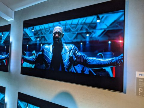 Philips OLED 804 hands on