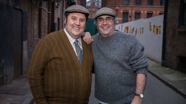 Peter Kay and Danny Baker