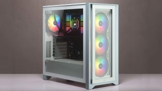 You can build a glassy-looking PC inside this Corsair case that's on sale for $100