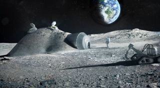 Will future lunar homes be made with the help of human urine?