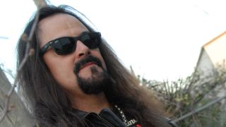 A promotional picture of Deicide frontman Glen Benton