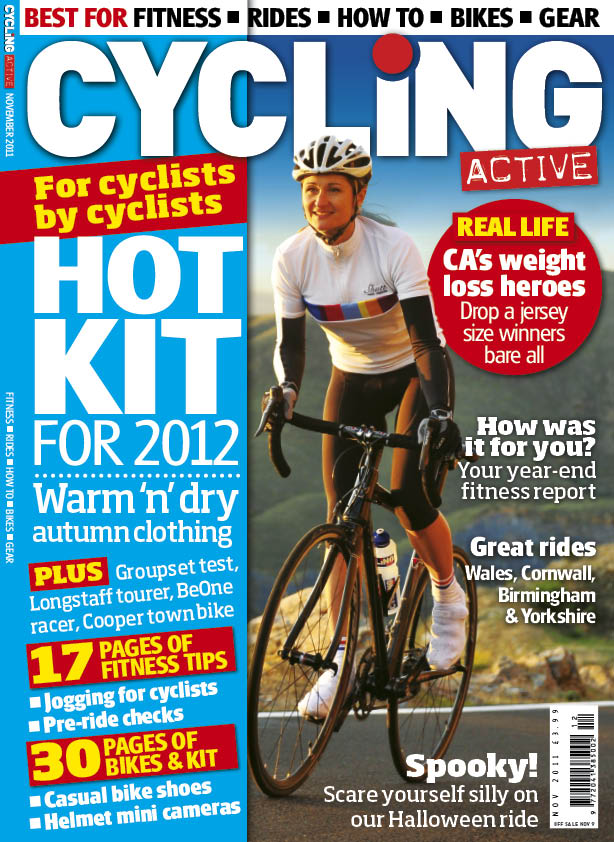 Cycling Active November 2011 issue