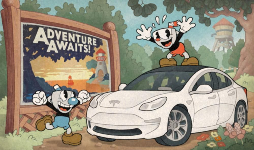 Cuphead has sold 5 million copies, is on sale, and can be played in Tesla cars