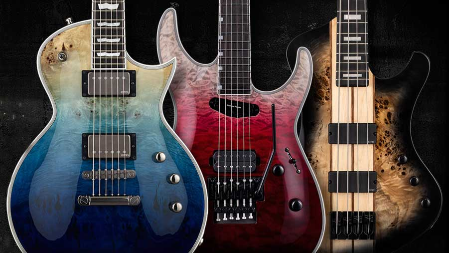 NAMM 2019: ESP debuts a wealth of new guitars and basses