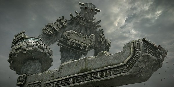 Wander on the sword of a colossus