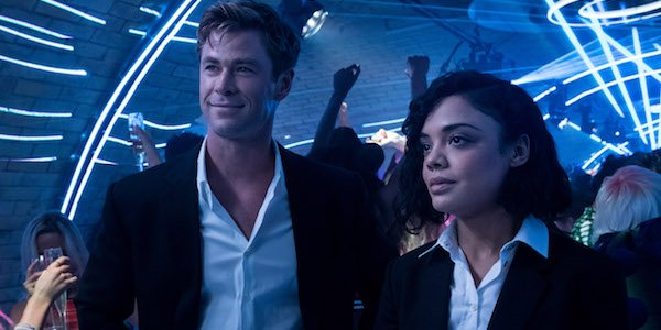 Chris Hemsworth and Tessa Thompson in Men In Black International