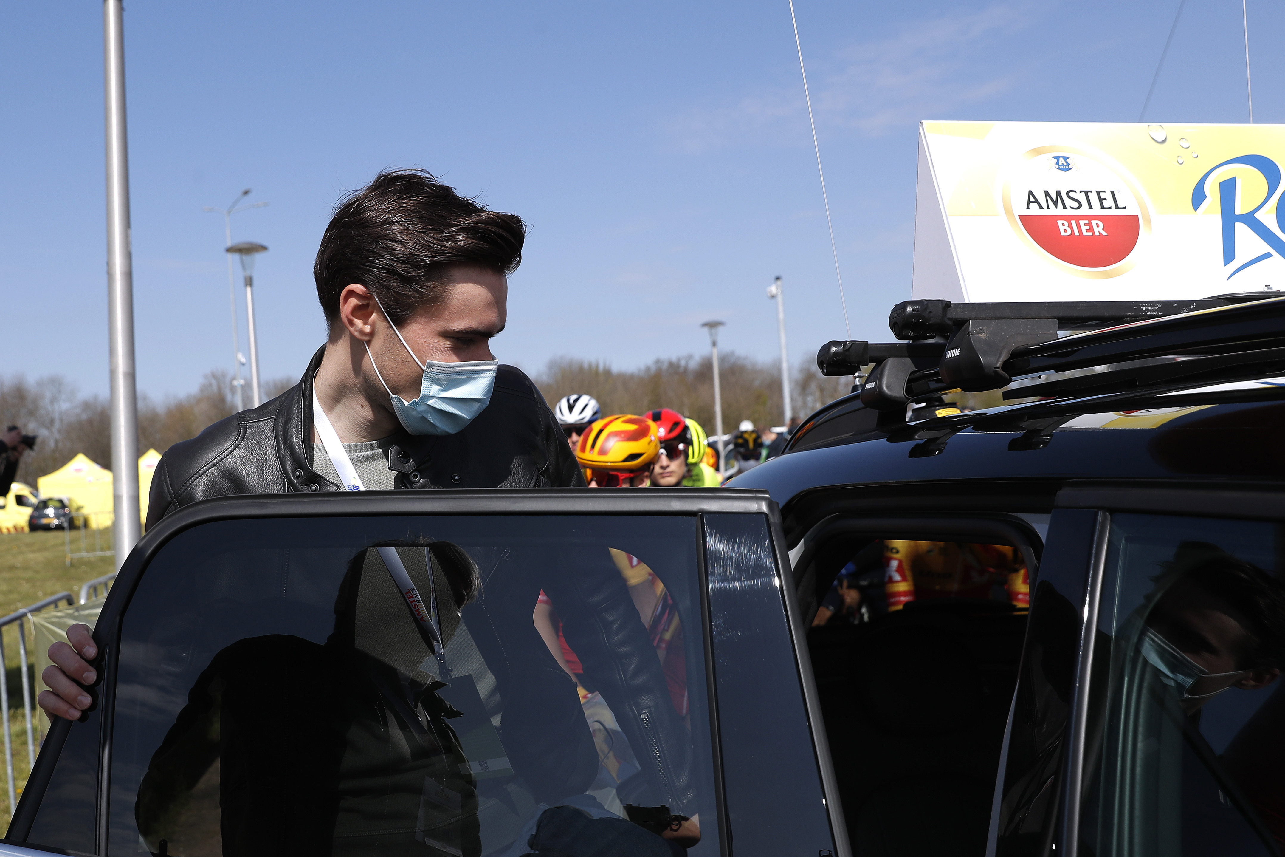 Tom Dumoulin was a welcome presence at Amstel Gold Race.