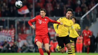 Lewandowski Bayern Munich Hummels Borussia Dortmund