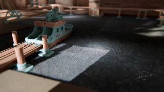 Dreams developer shows off the best looking carpet we've ever seen