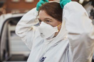 Crime Scene Investigator Laura Matthews