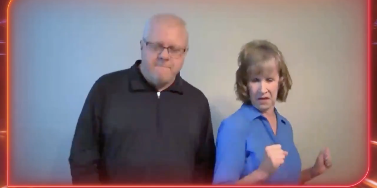 The Voice Connor Christian parents dancing